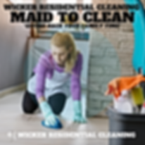 Maid to clean