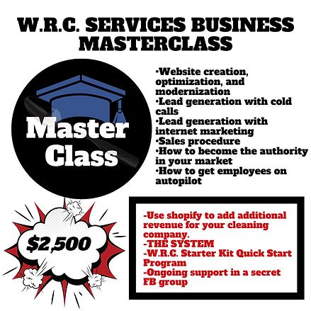 VIRTUAL MASTER CLASS