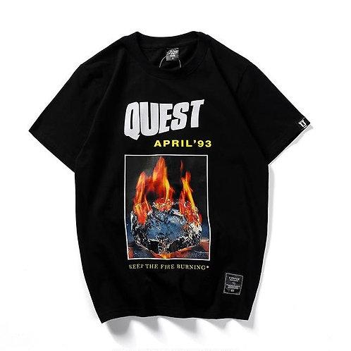 Tee-Shirt ''quest'' Casual