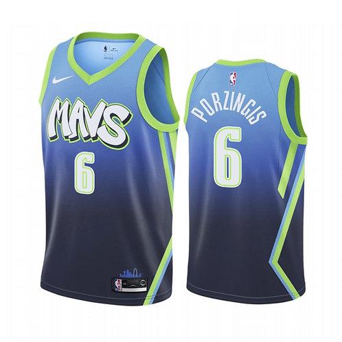 Nike NBA Jersey Dallas Mavericks  #6 Kristaps Porziņģis