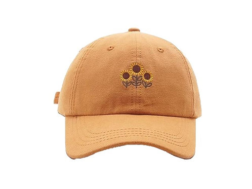 """Sunflowers"" Baseball Cap"