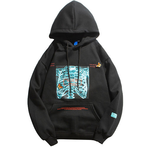Hoodie - Butterfly X-Ray