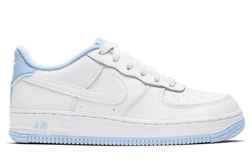 Nike Air Force 1 Low White Hydrogen Blue (GS)