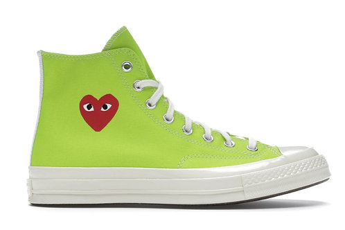 Converse Chuck Taylor All-Star 70s Hi Comme des Garcons Play Bright Green