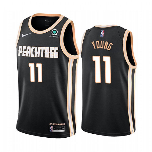 Nike NBA Jersey Peachtree # 11 Trae Young