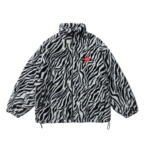 Jacket Fur - Zebra