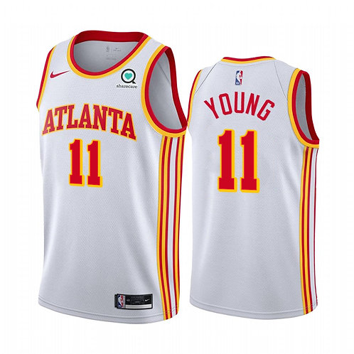 Nike NBA Jersey Atlanta #11 Trae Young