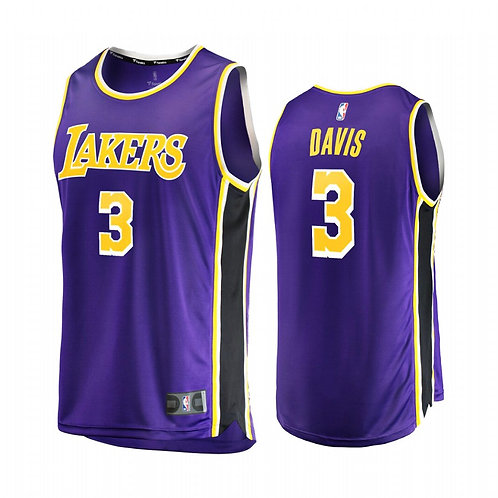 Nike NBA Jersey Lakers #3 Anthony Davis