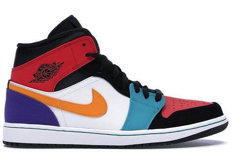 Jordan 1 Mid Bred Multi-Color