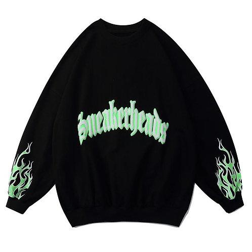 """""""Green Flame"""" Sweatshirt"""