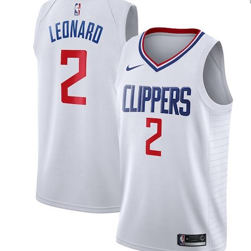Nike NBA Jersey Clippers #2 Kawhi Leonard - Icon Edition 2020