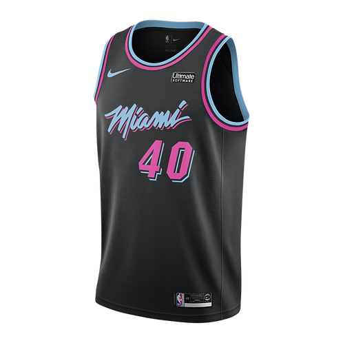 Nike NBA Jersey Miami #40 Udonis Haslem