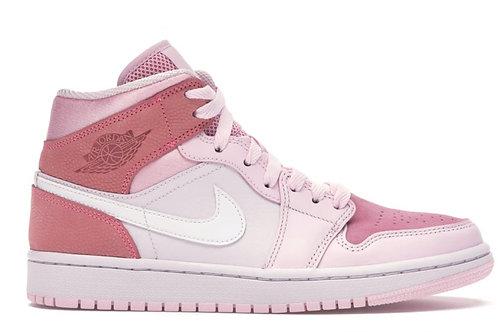 Jordan 1 Mid Digital Pink
