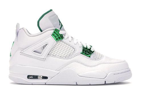 Jordan 4 Retro Metallic Green