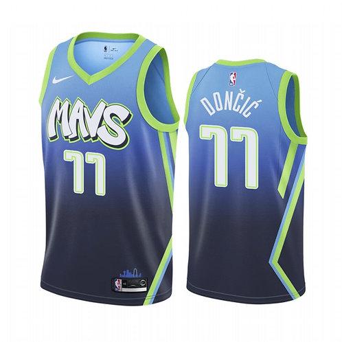 Nike NBA Jersey Dallas Mavericks # 11Luka  Dončić