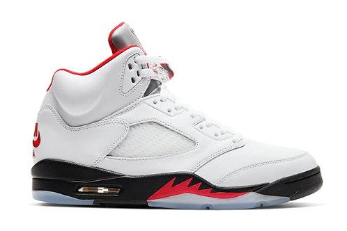 Jordan 5 Retro Fire Red Silver Tongue (2020)