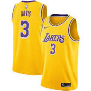 Nike NBA Jersey Lakers #3 Anthony Davis