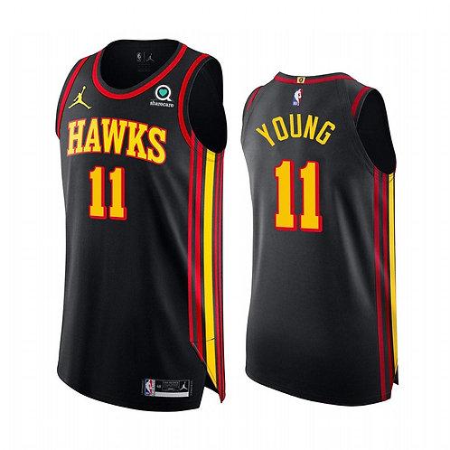 Nike NBA Jersey Hawks #11 Trae Young