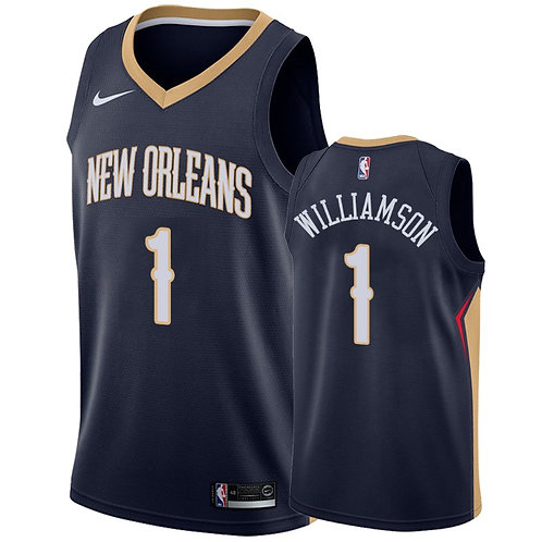 Nike NBA Jersey New Orleans # 1 Williamson