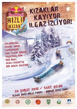 Hızlı Kızak Poster