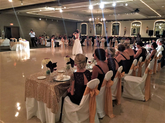 Head tables & Dancing