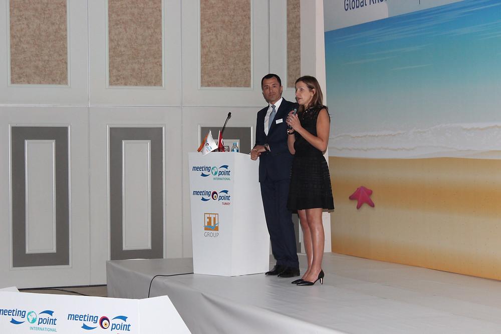 Meeting Point International CEO - Roula Jouny & Meeting Point Turkey CEO - Kamil Özil