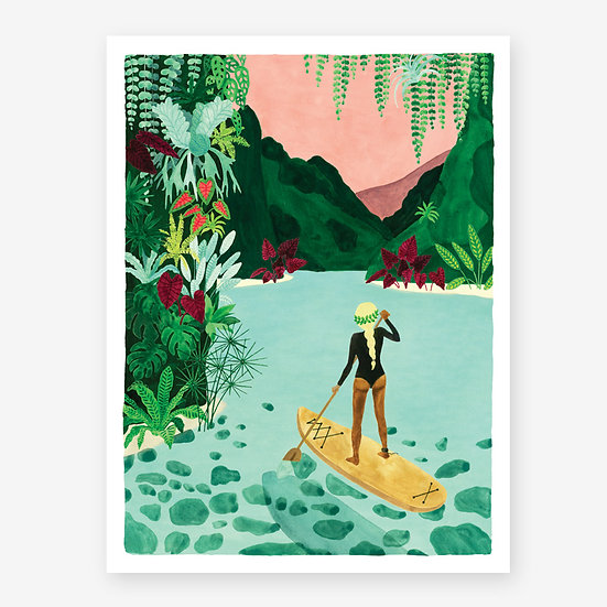 All the Ways To Say: Paddle Print