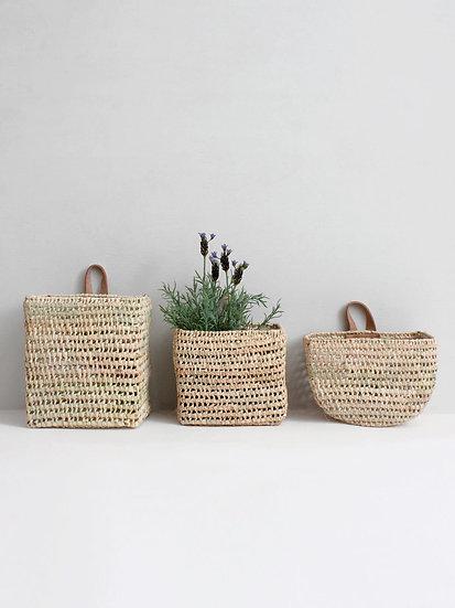 Set of 3 Wall Baskets