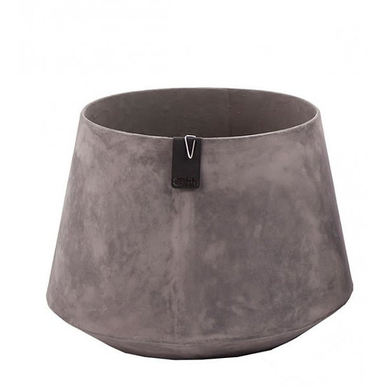 Tokyo Flower Pot- Taupe (Grey)
