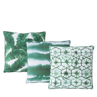 Green Pattern Pillows