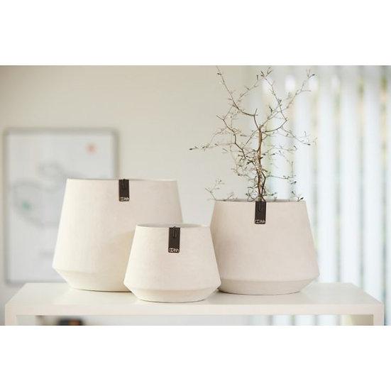 White Tokyo Flower Pot