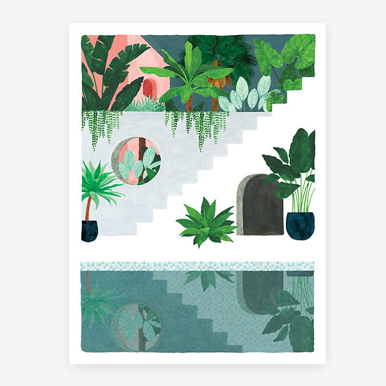 Botanical Stairs