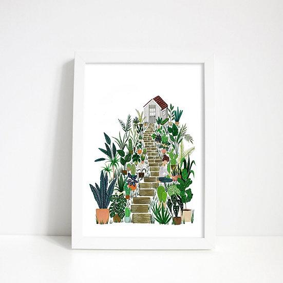 Lara Oztekin Garden Shed Scenery