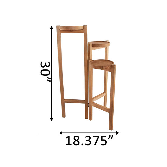 Wooden 3 Tier Plant Stand