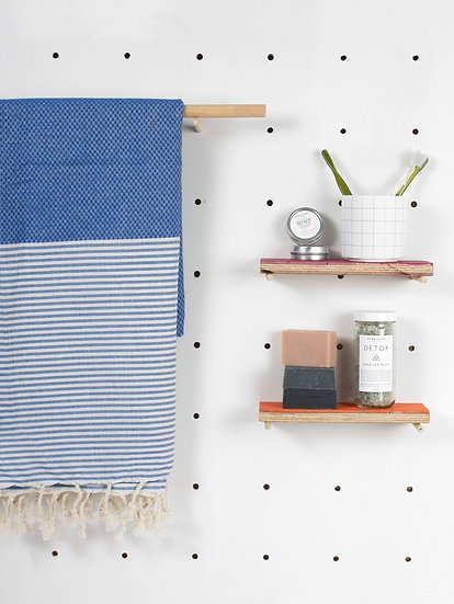 Brittany Hamman Towel - Blue