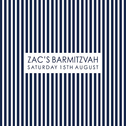 Bar Mitzvah ref 911-007