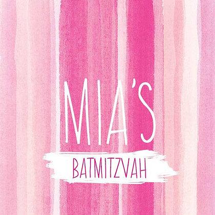 Bat Mitzvah ref 912-61