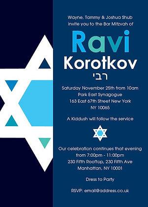 Bar Mitzvah ref 911-119