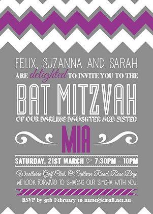 Bat Mitzvah ref 912-57