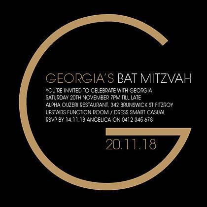 Bat Mitzvah ref 912-55