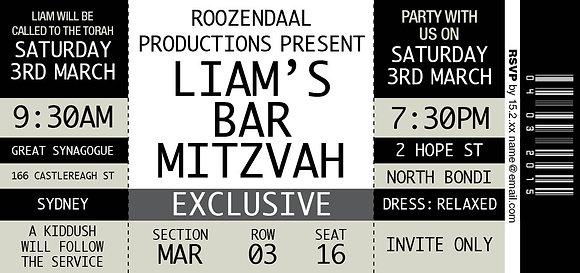 Bar Mitzvah ref 911-74