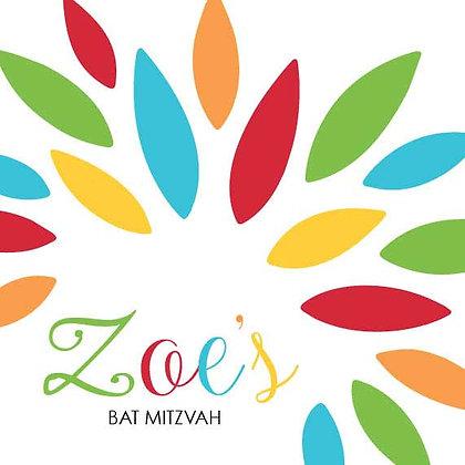 Bat Mitzvah ref 912-60
