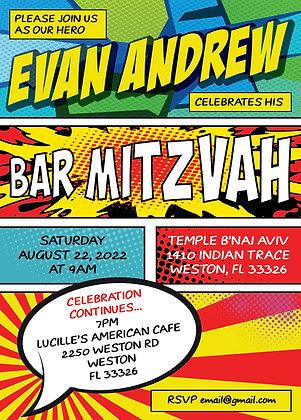 Bar Mitzvah ref 911-156
