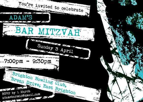 Bar Mitzvah ref 911-019