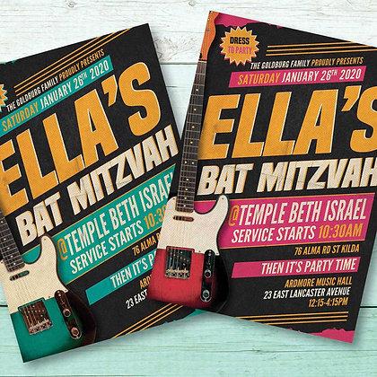 Bat Mitzvah ref 912-107