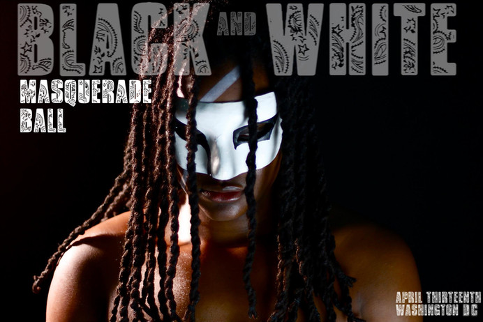 THE BLACK AND WHITE MASQUERADE BALL