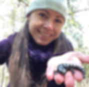 Cathy-with-Ambystoma-opacum-Frenchtown_e