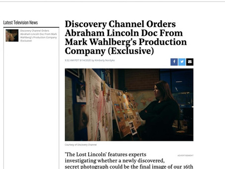 'The Lost Lincoln' premieres Sunday, October 4th on Discovery Channel