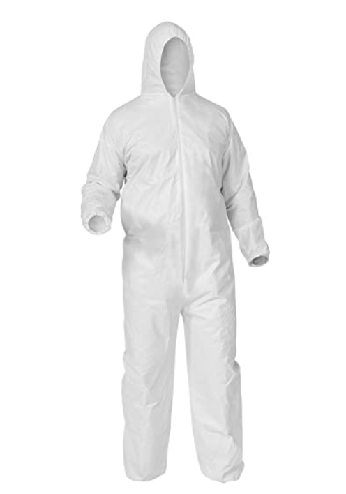 Disposable Type 5/6 Coverall - White