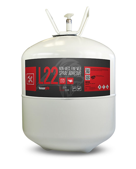 L-22 TensorGrip Adhesive 22L Canister